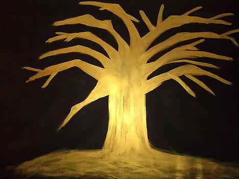 GOLDEN Tree of Life by Elisheva Herrera