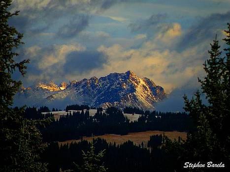 Gore Range Sunrise by Stephen Barela