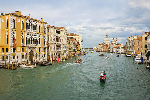 Grand Canal in Venice Italy by Kiril Stanchev