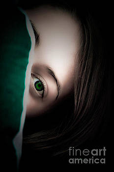 Green Eyed Lady by Annie Lemay