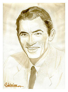 Gregory Peck by David Iglesias