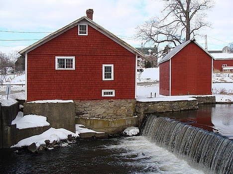 Gristmill by Lewis Mengersen