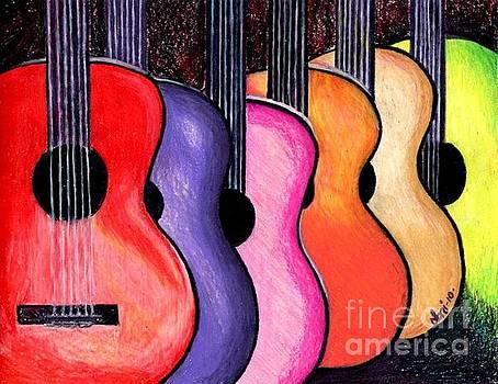 Guitars by Elaan Yefchak