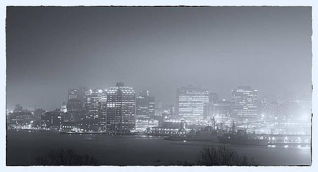 Halifax at Night by Craig Brown