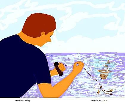 Handline Fisherman by Fred Jinkins