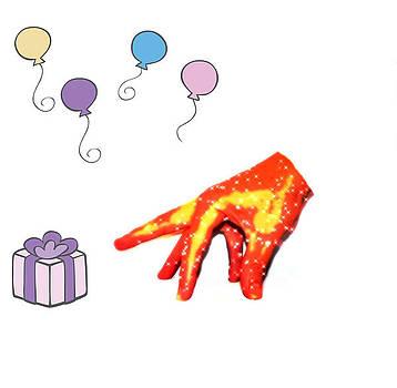 Happy Birthday Mr. Hand by Michael Sokalski