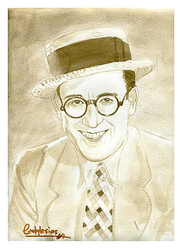 Harold Lloyd by David Iglesias