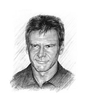 Harrison Ford by Lou Ortiz