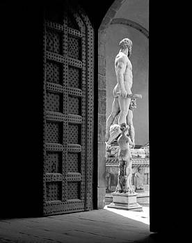 Hercules and Cacus Florence Italy by David Murphy