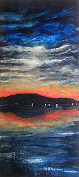 High Summer on Hood Canal by Mary C Farrenkopf