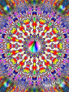 Hippie Eye Chart by Bobby Hammerstone