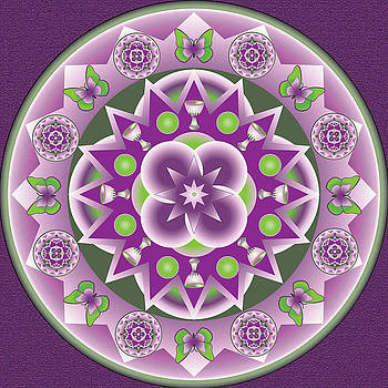 Holy Week Mandala by Linda Pope