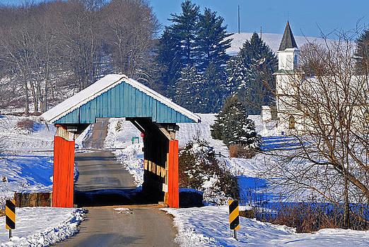 Hopewell Church Covered Bridge by Chad Wilkins