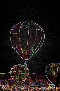 Hot Air Balloons VI by Larry Small