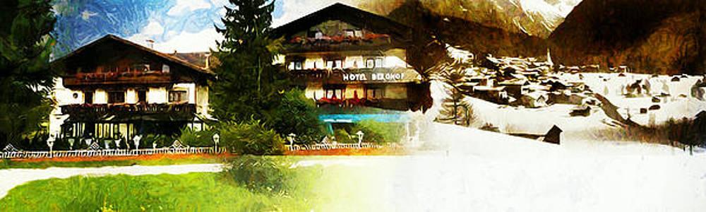 Hotel Berghof in Neustift by Jolande Gerritsen