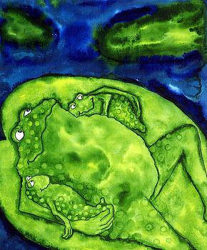 debi hubbs-美國女藝術家,設計師,和插畫家以異想天開的風格而聞名,畫中顯示出她的幽默感,和藝術有趣的另一面(第二輯) 。。。 - Milk平平.淡淡.也是真  - ☆☆milk 平平。淡淡。也是真 ☆☆