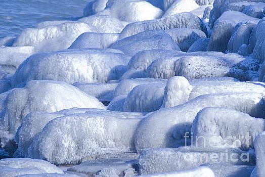 Ice rocks 4 by Jim Wright