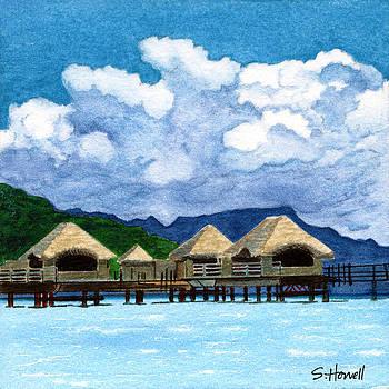 Idyllic Accommodations Bora Bora by Sandi Howell