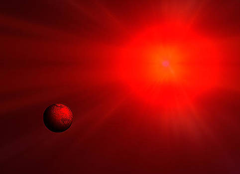 In The End The Red Giant by David Murphy