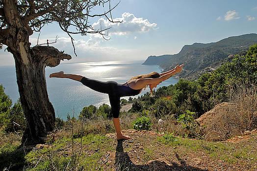 Inspiring Yoga In Ibiza by Nano Calvo