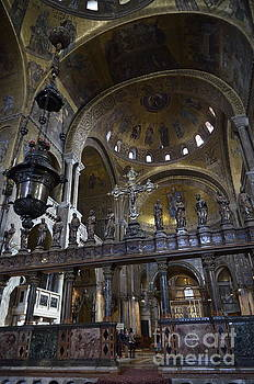 Interior of San Marco basilica by Sami Sarkis