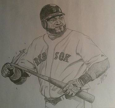 Intimidating David Ortiz by Rox Fort