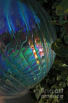 Iridescent Globe by Kathy DesJardins
