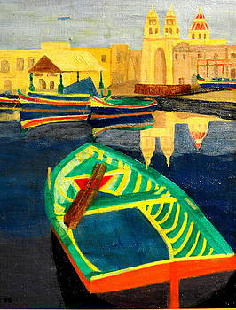 Italian Port by Larry Farris
