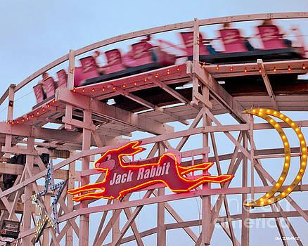 Jack Rabbit Coaster Kennywood Park by Jim Zahniser