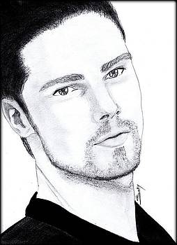 Jay Ryan - Beauty and the beast by Saki Art