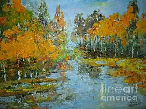 Jesen na jezeru by Buba Glodjovic