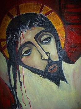 Jesus on the Cross by Michael C Doyle