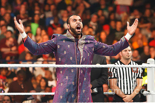 Jinder Mahal by Wrestling Photos