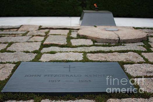 John F Kennedy Grave Site by Andrew Romer