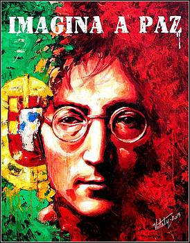 John Lennon - a man of peace and the world. Portugal by Vitaliy Shcherbak