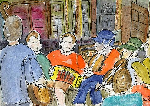 Cajun Music Jam by Andrea Rubinstein