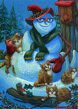 Jolly Snowman and Friends by Jacquelin Vanderwood