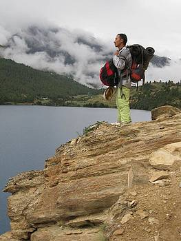 Journey of thousand mountains by Karma Gurung