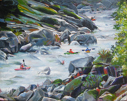 Kayaking the Yuba by Katie Wolff