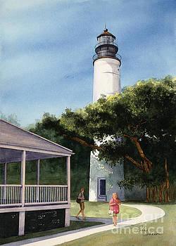 Key West Light House by Penny Johnson