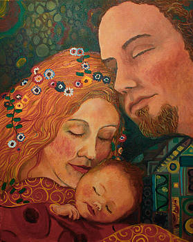 Klimt family by Anika Ferguson