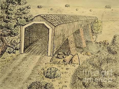 Knights Ferry Bridge by Bob Rowell