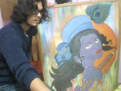 Krishna  by Abhishek Vishwakarma