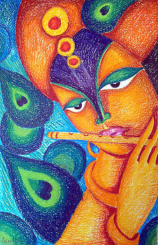 Krishna by Sudhir Deshpande