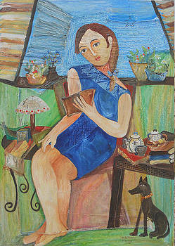 La Lectora by Sandra Dooley