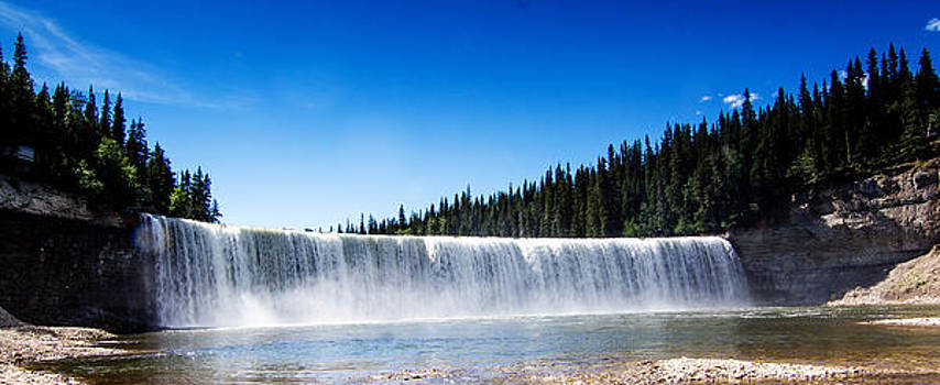 Lady Evelyn Falls by Valerie Pond