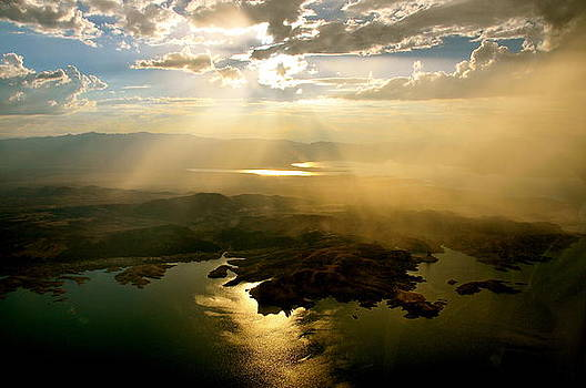 Lake Mead Sunset by Amanda Miles