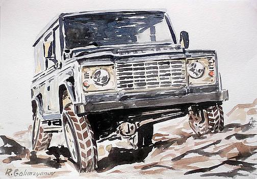 Land Rover Defender by Rimzil Galimzyanov
