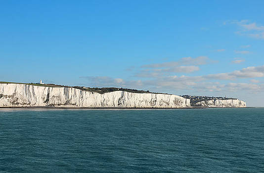 Last cliffs of the United Kingdom near Dover by Kiril Stanchev