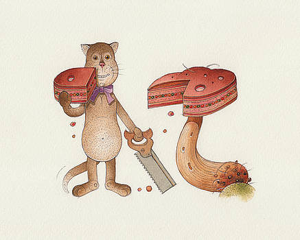 Lazy Cats10 by Kestutis Kasparavicius